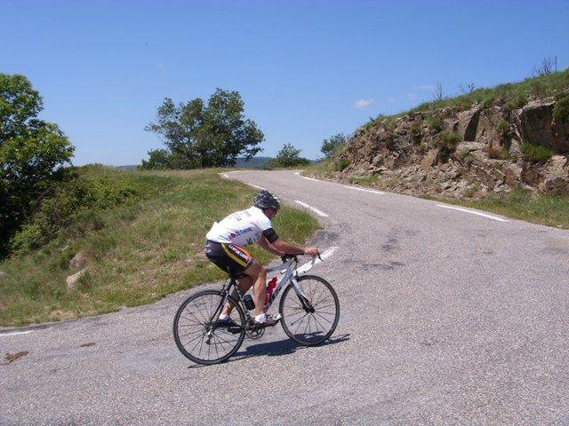 Vélo cycliste en Cévennes gard