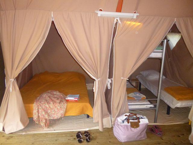 bungalow toilé camping Aigoual