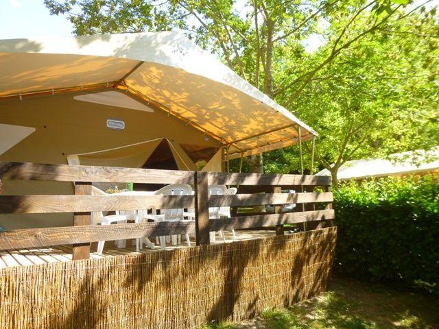bungalow toilé camping hérault