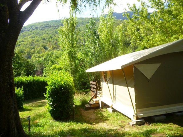bungalow toilé Parc des Cévennes