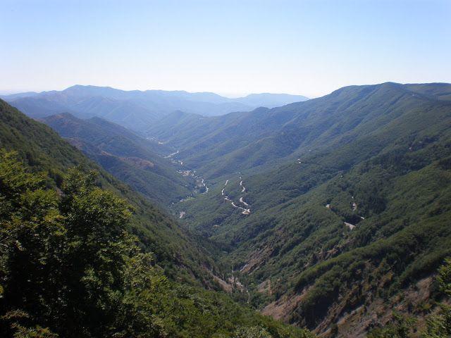 Cévennes vallée de l'Hérault Valleraugue