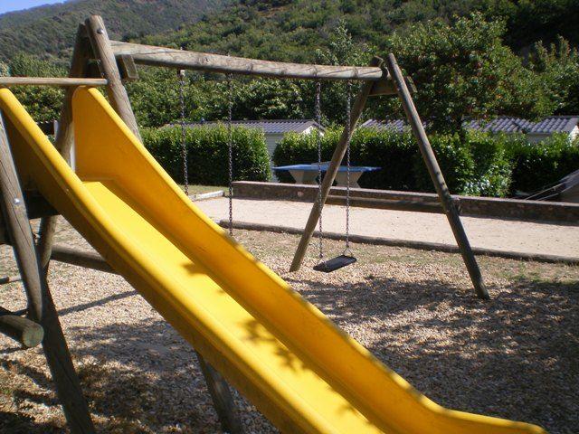 jeux enfants camping en Cévennes