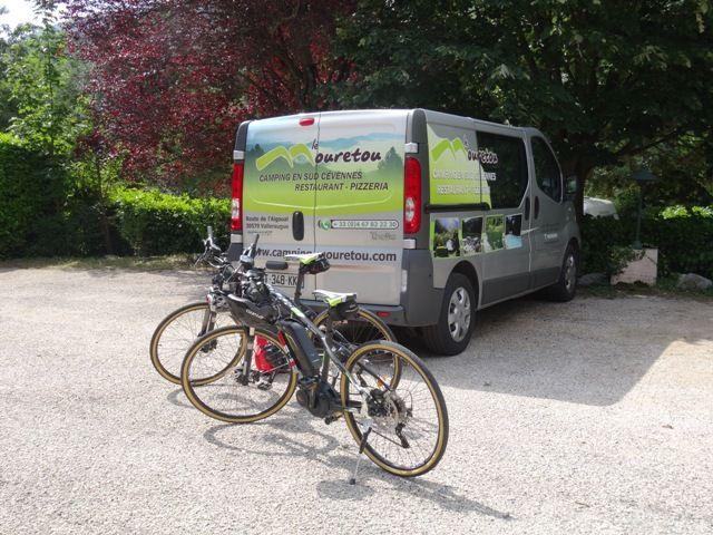 location vélo électrique camping Aigoual