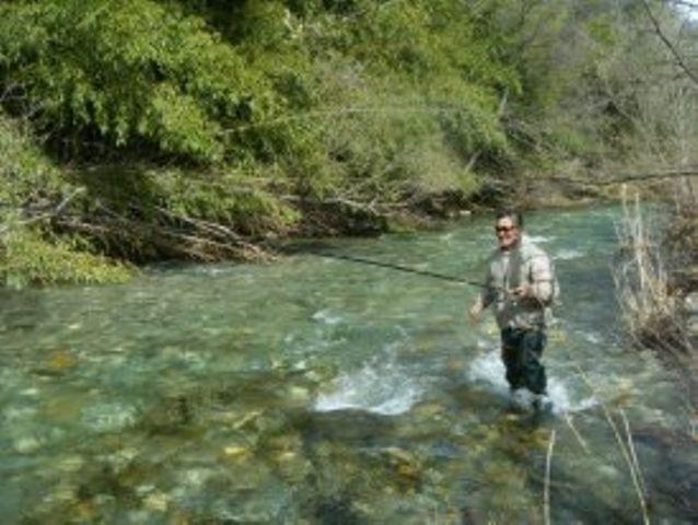 pêche en Cévennes dans l'Hérault camping