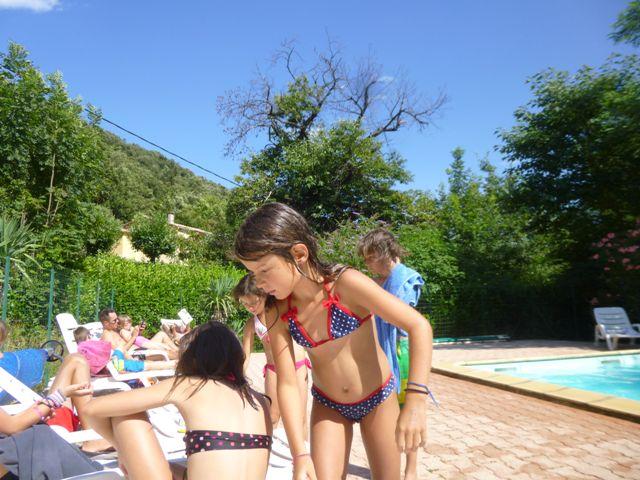 piscine chauffée enfants Cévennes camping