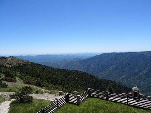 randonnée 4000 marches sommet Aigoual