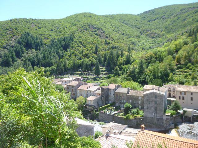 randonnée 4000 Marches vue Valleraugue