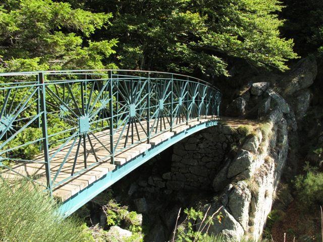 randonnée cascade d'Orgon Aigoual pont