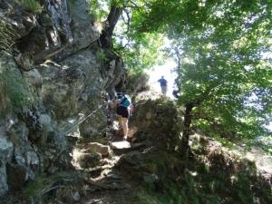 sentier des Cascades de l