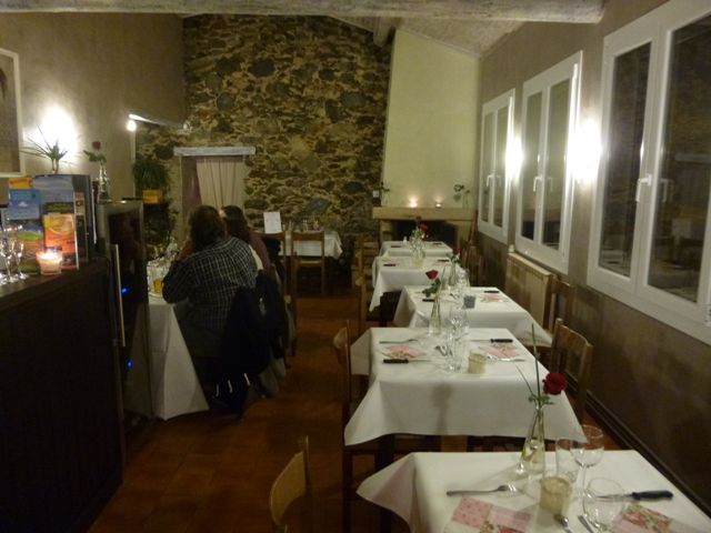salle restaurant Valleraugue Saint Valentin
