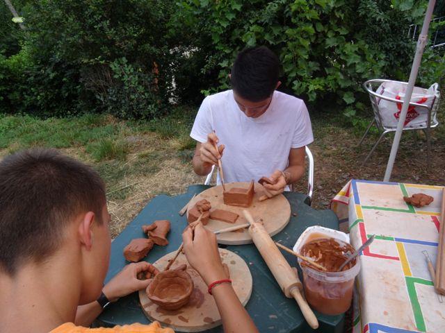 camping en Cévennes atelier de poterie