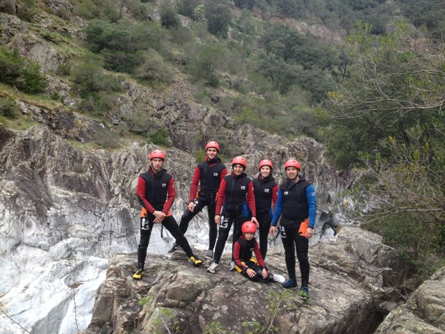 camping Parc National des Cévennes canyoning