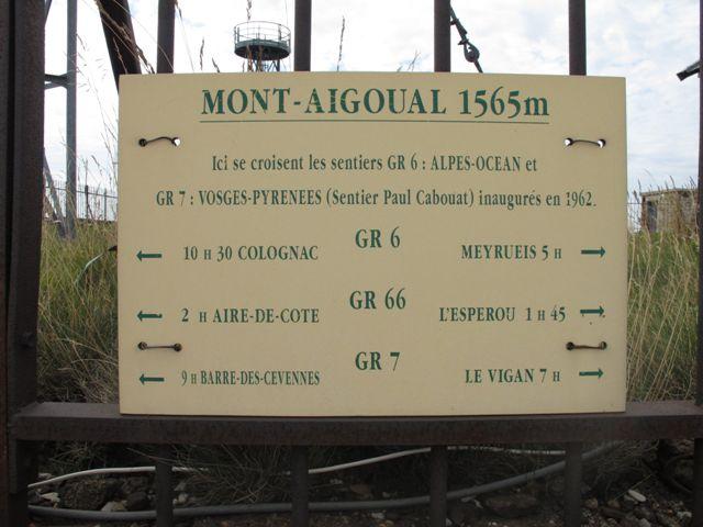 GR Mont Aigoual Parc National des Cévennes
