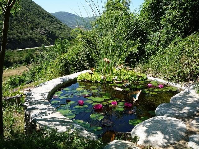 jardins des sambucs Cévennes écotourisme
