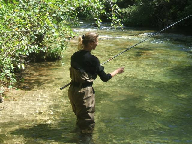 pêche en Cévennes dans l'Hérault