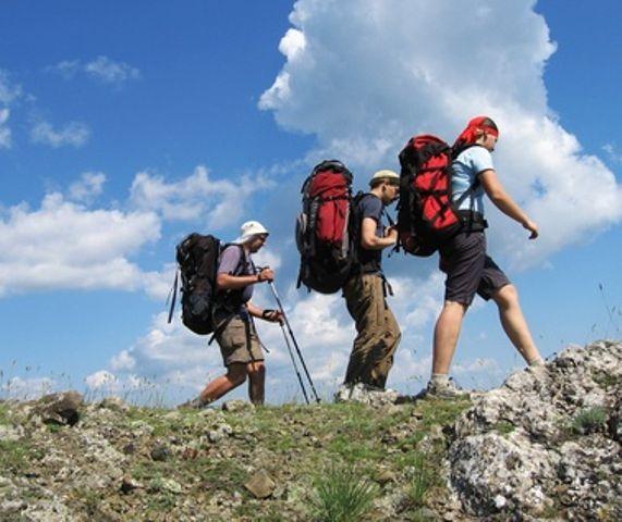 randonneur dans le Parc National des Cévennes