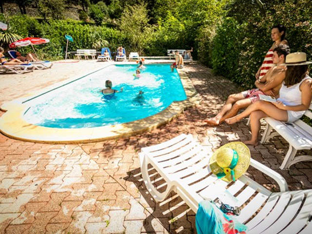 View Larger Image Heated Pool In The Cevennes In Camping Le Mouretou  Valleraugue ...