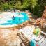 piscine chauffée Le Mouretou cévennes camping gard