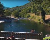 Vidéo camping bord de rivière