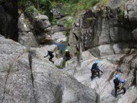 activité canyoning en cévennes