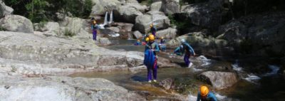Canyoning des sources du Tarn