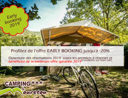 Early Booking 2019: jusqu'à -20%