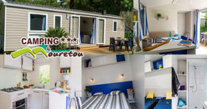 New mobil homes for 2019 at camping Le Mouretou