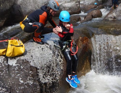 Canyoning from the 11th to the 14th of july 2020