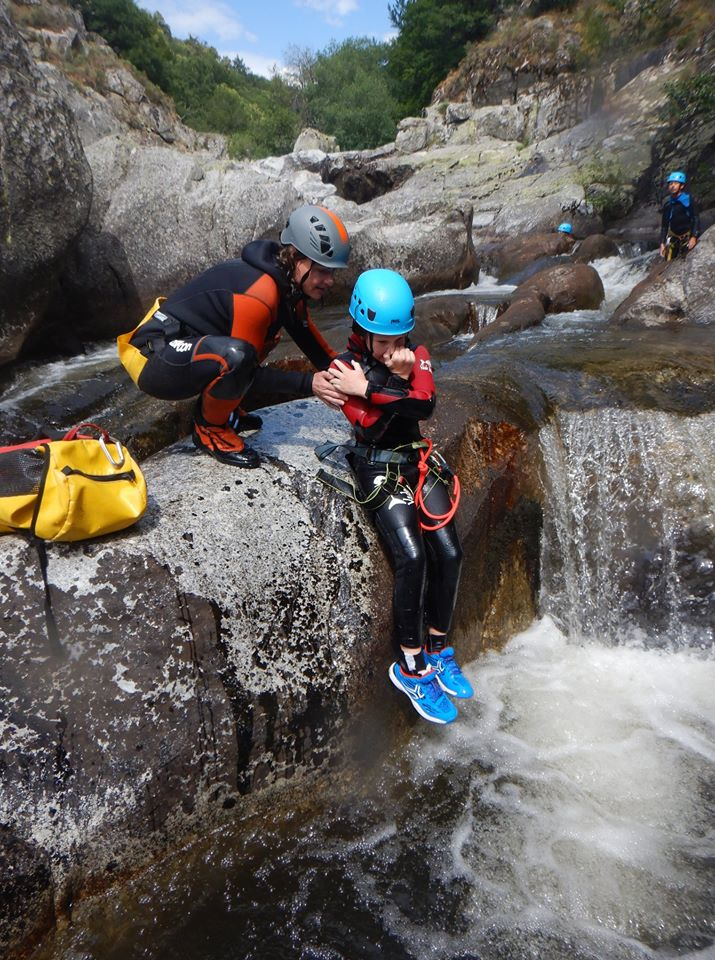 stage canyoning cévennes